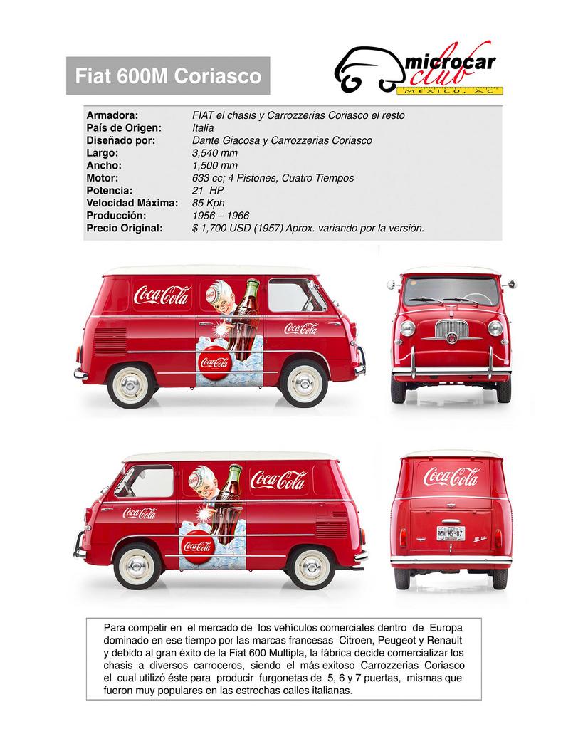 Fiat 600 Furgone Coriasco (Italia)